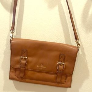 Kate Spade Crossbody or clutch tan
